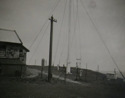 1938. Hartland Point meteorological equipment