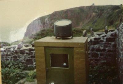 1982 Hartland Point weather station cloud searchlight