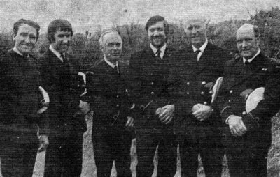 1978. Full time Hartland Coastguards
